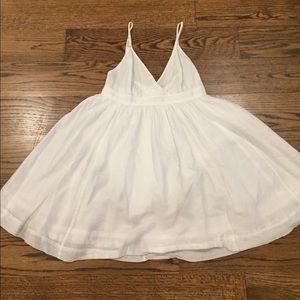 J. Crew Deep V Spaghetti Strap Summer Dress